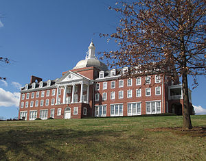 Front Royal, Virginia - Sonner Hall at Randolph-Macon Academy is listed on the National Register of Historic Places.
