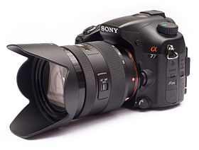 image illustrative de l'article Sony Alpha 77
