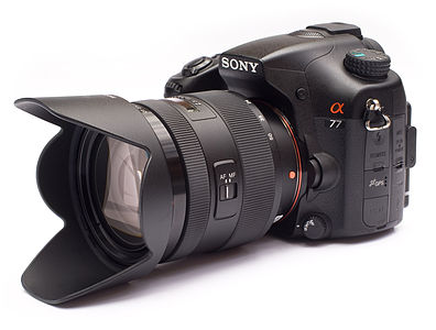Sony Alpha A77 with 16-50mm f/2.8 SSM lens