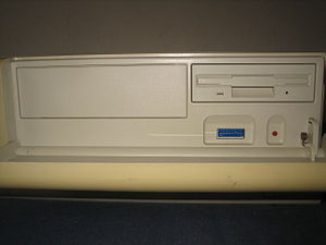 Sony NEWS - Sony NWS-3710 with front door open