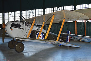 Sopwith Dolphin - Dolphin Mk I composite airframe displayed at the Royal Air Force Museum London, 2013