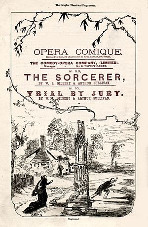 The Sorcerer - 1878 programme cover