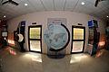 South-western Wall with Doors - Beyond Maya Gallery - Swami Akhandananda Science Centre - Ramakrishna Mission Ashrama - Sargachi - Murshidabad 2014-11-11 8533.JPG