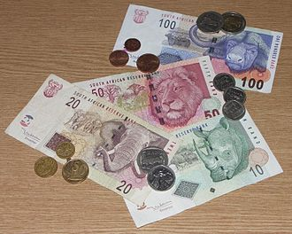 South African rand - Banknotes and coins of the South African Rand's fourth series (2005–2012)