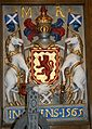 South Leith Church Tollbooth arms 1565.JPG