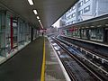 South Quay DLR stn look northbound.JPG