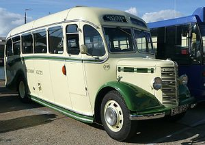 Bedford OB - A preserved Bedford OB previously operated by Southern Vectis
