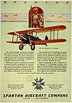 Spartan C-3 advertisemant Aero Digest May 1929.jpg