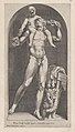 Speculum Romanae Magnificentiae- Bacchus on the Shoulders of a Satyr MET DP870223.jpg