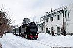 Spezzano della Sila - stazione ferroviaria di Moccone - locomotiva n. 353.jpg