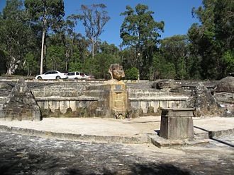 Ku-ring-gai Chase National Park - Sphinx Memorial
