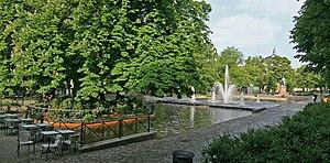Eidsvolls plass - The Spikersuppa pool