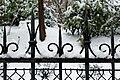 Square Samuel-de-Champlain (Paris) sous la neige, vu depuis l'avenue Gambetta 08.jpg