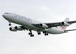 Bandaranaike International Airport is the hub of Sri Lanka's national carrier SriLankan Airlines