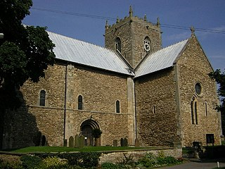 Stow Minster church in West Lindsey, UK