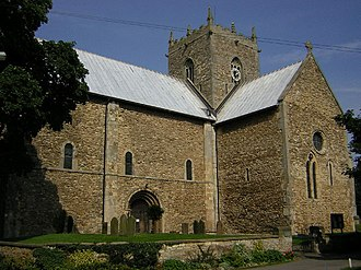 History of the Church of England - St Mary's Church, Stow-in-Lindsey, Lincolnshire (partly Anglo-Saxon and partly Norman)