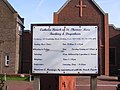 St.Thomas More Catholic Church Sign, Barking - geograph.org.uk - 1210687.jpg