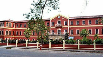 St. Aloysius Senior Secondary School established in the year 1868 is among the oldest schools in India St. Aloysius Senior Secondary School.jpg