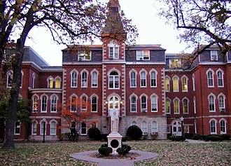 Ambrose Hall (Davenport, Iowa) - Ambrose Hall before 2013 renovation