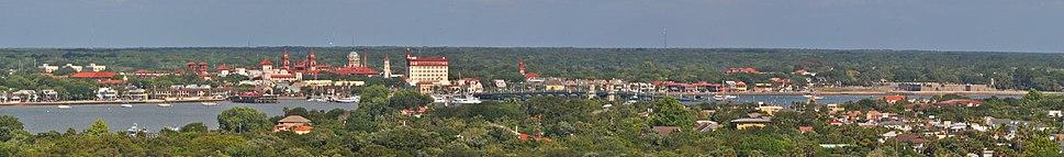 St. Augustine Florida Panoramic View