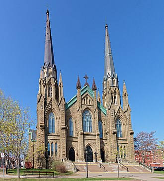 St. Dunstan's Basilica - Image: St. Dunstan's Basilica (Charlottetown PEI)