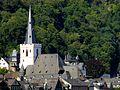 St. Goar - Evangelische Stiftskirche von St. Goarshausen aus gesehen - panoramio (1).jpg