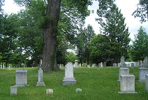 Third Addition to Rockville and Old St. Mary's Church and Cemetery - Image: St. Mary's Cemetery Rockville