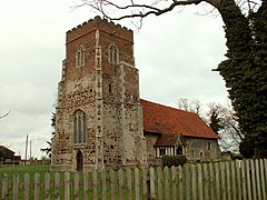 St. Mary the Virgin church, Little Bromley, Essex - geograph.org.uk - 158497.jpg