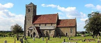 St Andrew's Church, Woodwalton - Image: St Andrew's Church Woodwalton