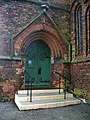 St Elizabeth of Hungary Church, Aspull, Doorway - geograph.org.uk - 956028.jpg