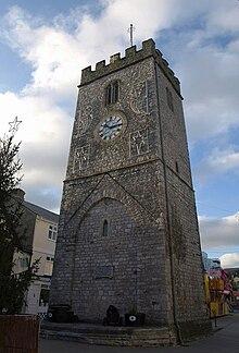 St Leonard's Tower, Newton Abbot - geograph.org.uk - 1629578.jpg