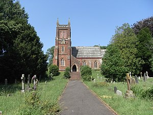 Blagdon, Paignton - St Mary's Church, Collaton St Mary, built in 1864 by Rev. Hogg of Blagdon
