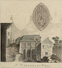 View of St Winifred's Well