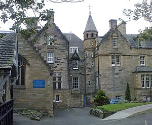 Edinburgh Theological College - The college buildings, today St Mary's Music School