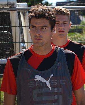 Yoann Gourcuff - Gourcuff with Rennes in 2016