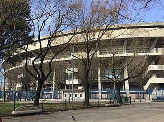 Stadio Marc'Antonio Bentegodi - Outside view of the stadium in 2019.