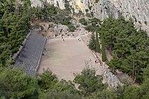 Stadium of the Pythian games at Delphi, 060172.jpg