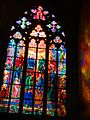 Stained glass in St. Vitus cathedral - panoramio.jpg