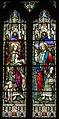 Stained glass window, All Saints' church, Upton cum Kexby, Lincs (18001765298).jpg