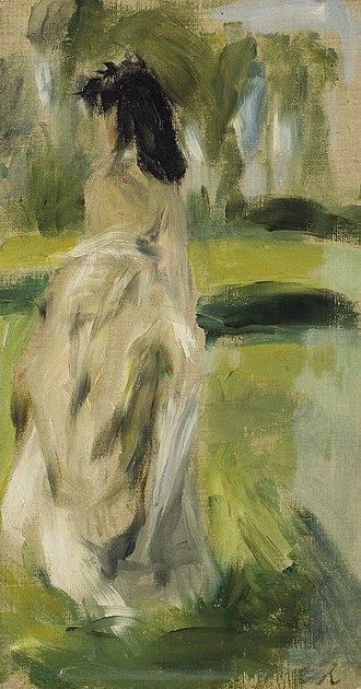 Lise Tréhot - Image: Standing Young Woman
