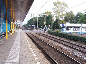 Diemen railway station - Diemen railway station in 2005