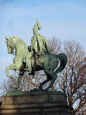 Charles XV of Sweden -  Statue of Charles XV in Stockholm