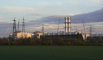 Staythorpe Power Station - Staythorpe Power Station unit A
