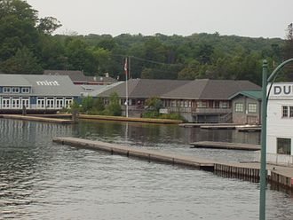 Muskoka Lakes - Steamboat Bay in Port Carling.