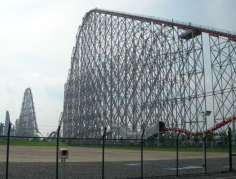 ride: a Roller coaster: (longest) Steel Dragon 2000