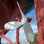 Steel screw of the steamer tug Vridni (1984); Split, 2013-04-10.jpg