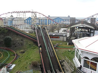 Steeplechase (Pleasure Beach Blackpool) - Image: Steeplechase (Pleasure Beach Blackpool)