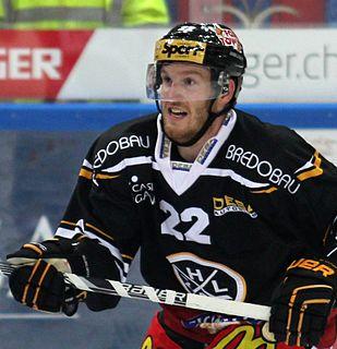 Stefan Ulmer Austrian ice hockey player
