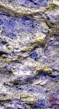 Rockwool Insulation, 1600 dpi scan with the grain