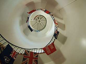 Withernsea Lighthouse - Image: Steps inside the lighthouse geograph.org.uk 538841